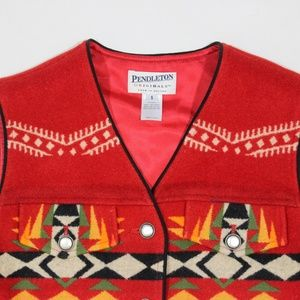 Pendleton Jackets & Coats - Pendleton Navajo Southwest Vest Jacket Wool USA